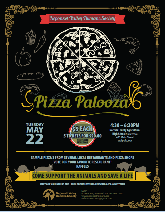 Pizza Palooza flyer from Jan